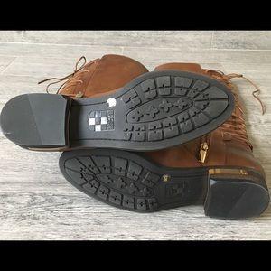 ea99de099b3 Never worn Vince Camuto Brown Palenda Boots